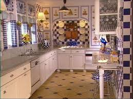 cos606_4_kitchen. A blue and white ...