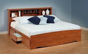 great king size platform bed with storage ideas