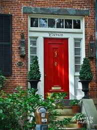 red front door on brick house. I Want A Red Front Door With Roses On The Walkway Brick House R