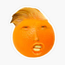 Donald Trump Orange Poster by popshopp | Redbubble