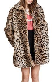 12 best leopard coats for winter 2018 leopard print fur and wool winter jackets