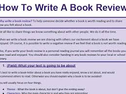 How To Write A Good Book Review Genre Booklet How To Write A Book Review