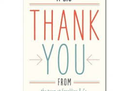 Thank You For Your Business Card Template Business Thank You Note 7