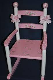 funky baby furniture.  baby items similar to childrenu0027s  custom hand painted pink floralrosebud  girls rocking chairbaby shower gift nursery furniture painted child  inside funky baby