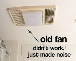 awesome how to replace a bathroom fan with light bathroom exhaust fan replacement installing a broan bathroom fan with light and heater