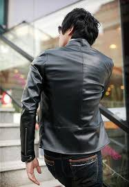 new fashion clothing mens motorcycle jackets faux leather coat for male men s mandarin collar slim fit leather jacket