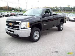 Black 2012 Chevrolet Silverado 2500HD Work Truck Regular Cab 4x4 ...