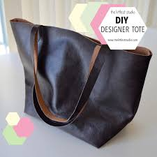 i was recently browsing and saw these lovely leather totes that are so fashionable nowadays it was a designer label and was d around 500