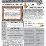 Pta Newsletter Template Studiojpilates Com