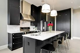 ... Black kitchen cabinets are an ideal choice for those who love  contemporary minimalism