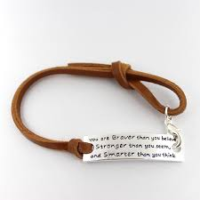 17cm printed words bracelet with brown leather strap bangles 10pcs lot free in bangles from jewelry accessories on aliexpress com alibaba