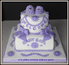 Purple Baby Shower Themes | Baby Girl - Cake Decorating Community ...