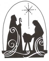 free nativity clipart silhouette. Exellent Nativity Nativity Silhouette Free 0 Ideas About Nativity On Clipart Intended Free Clipart Silhouette E