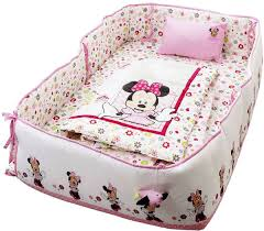 disney minnie mouse printed baby bedding 4 piece set pink a02 souq uae