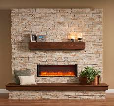 gallery collection built in linear electric fireplace