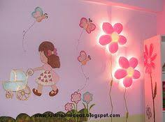 Leaves painted on wall with ikea flower light | Tree skirt | Pinterest |  Flower lights, Walls and Lights