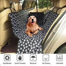 4 of 9 uk pet car seat cover dog safety mat cushion rear back seat protector hammock