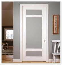 5 panel frosted glass door solid wooden frosted glass interior sliding pocket door closet doors decorating