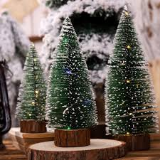 Mini Christmas Tree With Lights And Decorations Details About Artificial Christmas Light Tree Mini Tabletop Xmas Tree Traditional Decorations