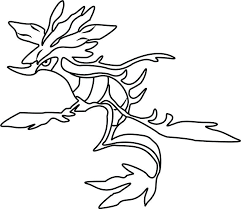Easy Drawing Pokemon Coloring Pages Easy Line Drawing For Tutorial