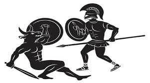 Image result for theseus and the minotaur