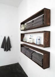 fascinating wooden crate bathroom storage shelf towel rack diywallshelves bathroomstoragetall jpg