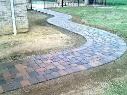 installing over concrete patio pavers driveway paver diy thin patio pavers over concrete