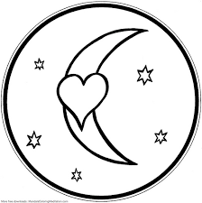 Small Picture Image Gallery of Coloring Pages Of Hearts And Stars