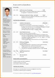 Latest Best Resume Format Luxury Gallery Of Latest Best Resume
