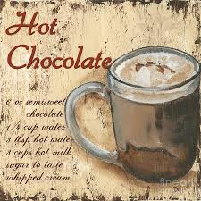 hot chocolate painting. Brilliant Painting Hot Chocolate Painting  By Debbie DeWitt Throughout H