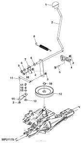 John deere parts diagrams john deere la105 tractor 44 in 2 stage