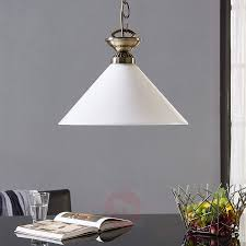 glass pendant lamp otis antique brass 9621031 03