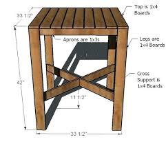 pub table leg pub table dimensions bar height table legs pub table pipe legs