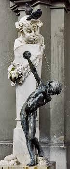 Фонтан Брунненбуберль или фонтан мальчишка Мюнхен Мобильный  Это один из самых знаменитых фонтанов Мюнхена дипломная работа выпускника мюнхенской Академии художеств Матиаса Гастайгера 1871 1934