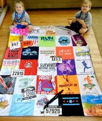 Running Pride T-Shirt Quilt | Project Repat T Shirt Quilts & Running T Shirt Quilt Adamdwight.com