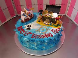 Round Pirate Themed Birthday Cake Charlys Bakery Flickr