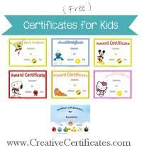 Free Online Printable Certificates Of Achievement 9 Best Kindergarten Achievement Certificate Images Award