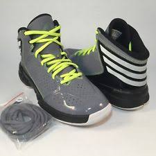 adidas 037001. adidas boys youth basketball shoes gray black white cli 037001 size 5 m 2