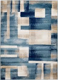 ebern designs sawyer geometric light blue area rug reviews wayfair property in addition to 17