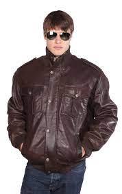 Wilda   Knox Leather Bomber - Wilda Leather