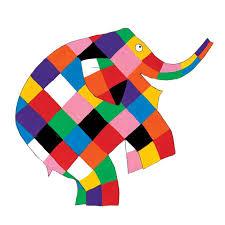 Image result for Elmer elephant
