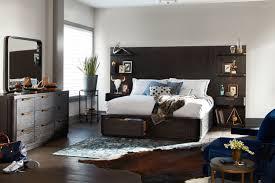 Malibu Bedroom Furniture Malibu King Tall Storage Wall Bedroom Set Umber Value City