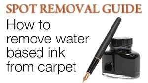 How to Remove Ink stains from Carpet - Ink Stains on Carpet | Spot Removal  Guide