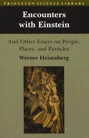 encounters einstein and other essays on people places and  111206