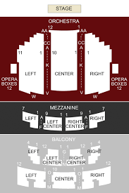Paramount Theatre Austin Tx Seating Chart Stage