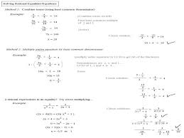 solving equations with fractional exponents worksheet jennarocca