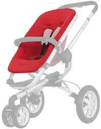 quinny buzz seat cover rebel red