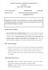 resume simple example resume chronological resume format