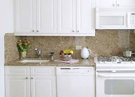 Small Picture Kitchens with White Appliances and White Cabinets Combination