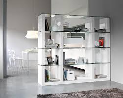 ... Bookshelf, Enchanting Glass Bookshelves Metal And Glass Bookcase Square Glass  Bookshelves With Books And Table ...